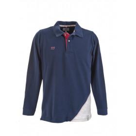 Long-sleeved men Polo shirt