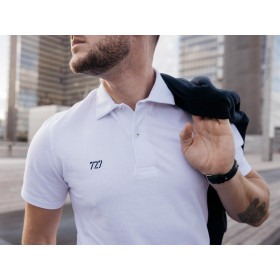 Short-sleeved men polo shirt - Basic (with no number)