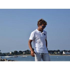 Men's Polo White - Solitaire du Figaro