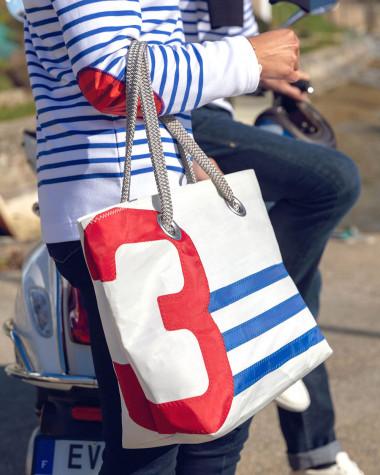 "Hand bag Charlie ""Armor Lux x 727 Sailbags"""