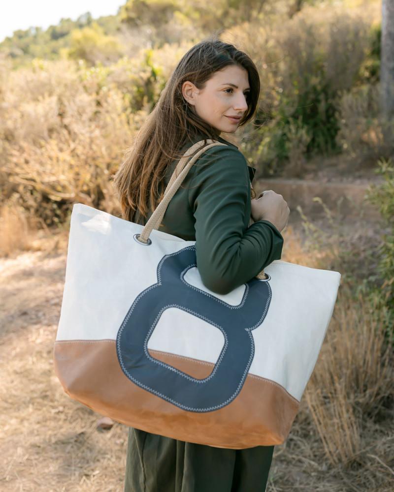Travel Bag Carla - Leather Base