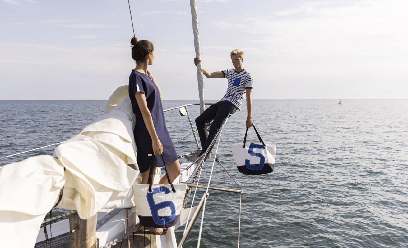 Sac Voyage Carla Navy Blue