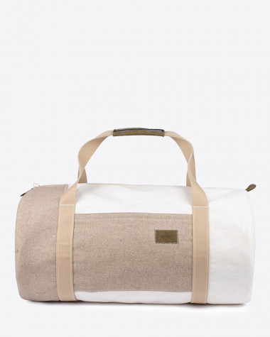 Reisetasche Onshore - leinen und leder