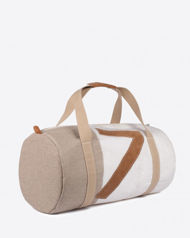 Duffel Bag Onshore - Linen and lether