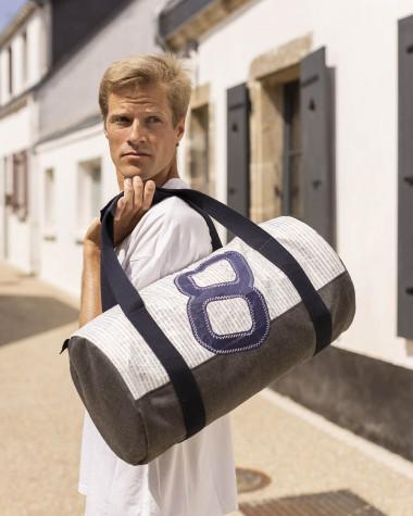 Duffel Bag Polochon Lighy Grey