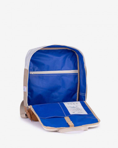 Willy backpack - Linen & Leather