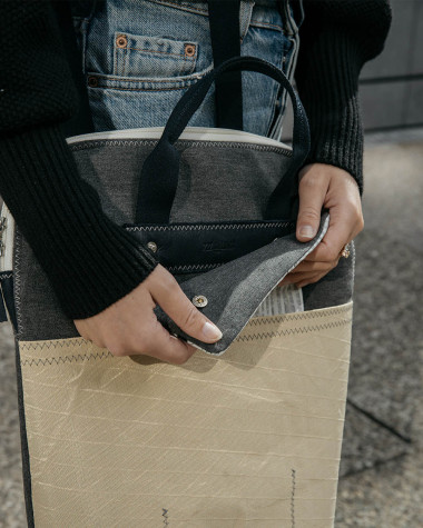 The Gabrielle backpack - Grey