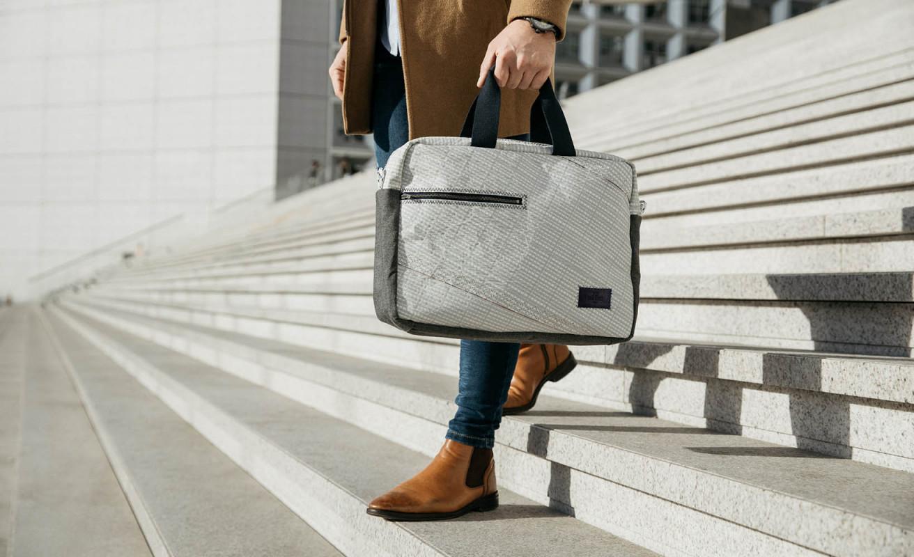 Business Bag - Light Grey