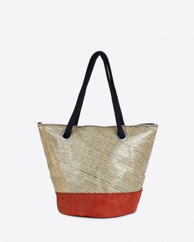 Hand bag Sandy Esterel - Terre de feu Leather