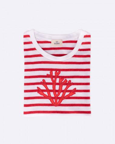 T-shirt marinière Femme
