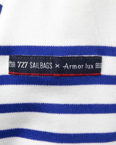 """Armor Lux x 727 Sailbags"" Woman breton striped shirt"