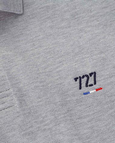 Short-sleeved Men Polo shirt - Grey