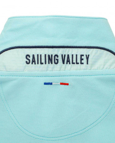 Herren-Poloshirt Segelboot
