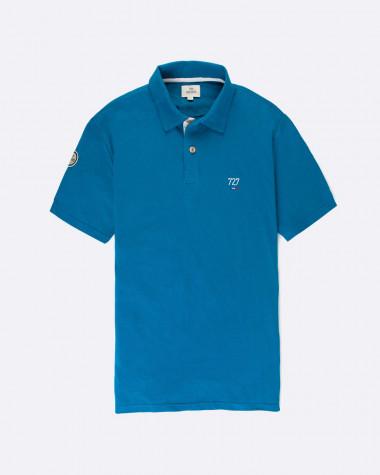 Polo Homme bleu Azur - Voilier