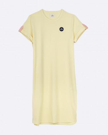 Littoral polo dress - Yellow