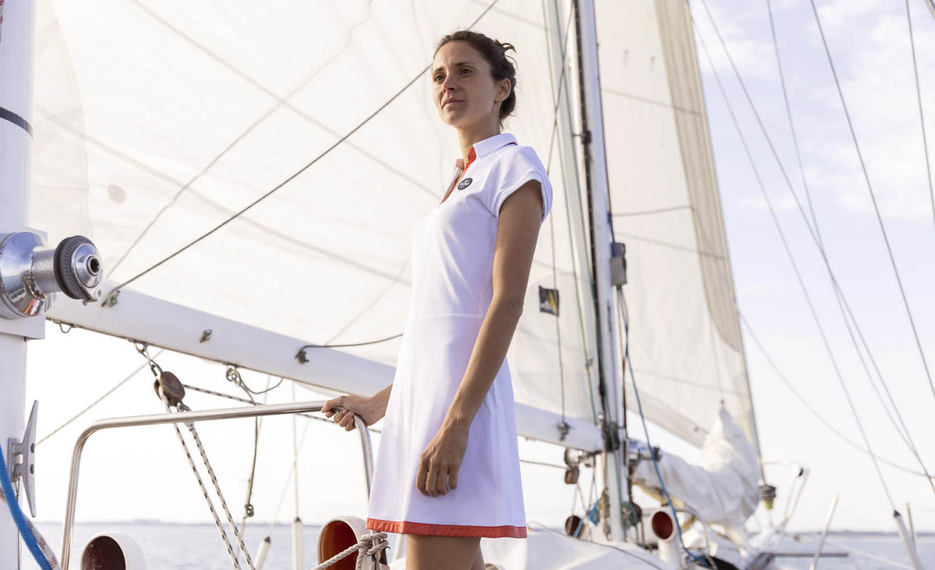 Kleid Yachting