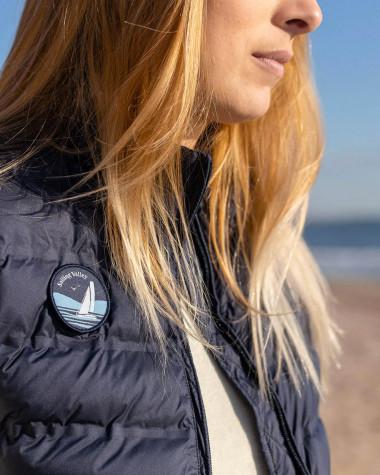 Women's sleeveless down jacket