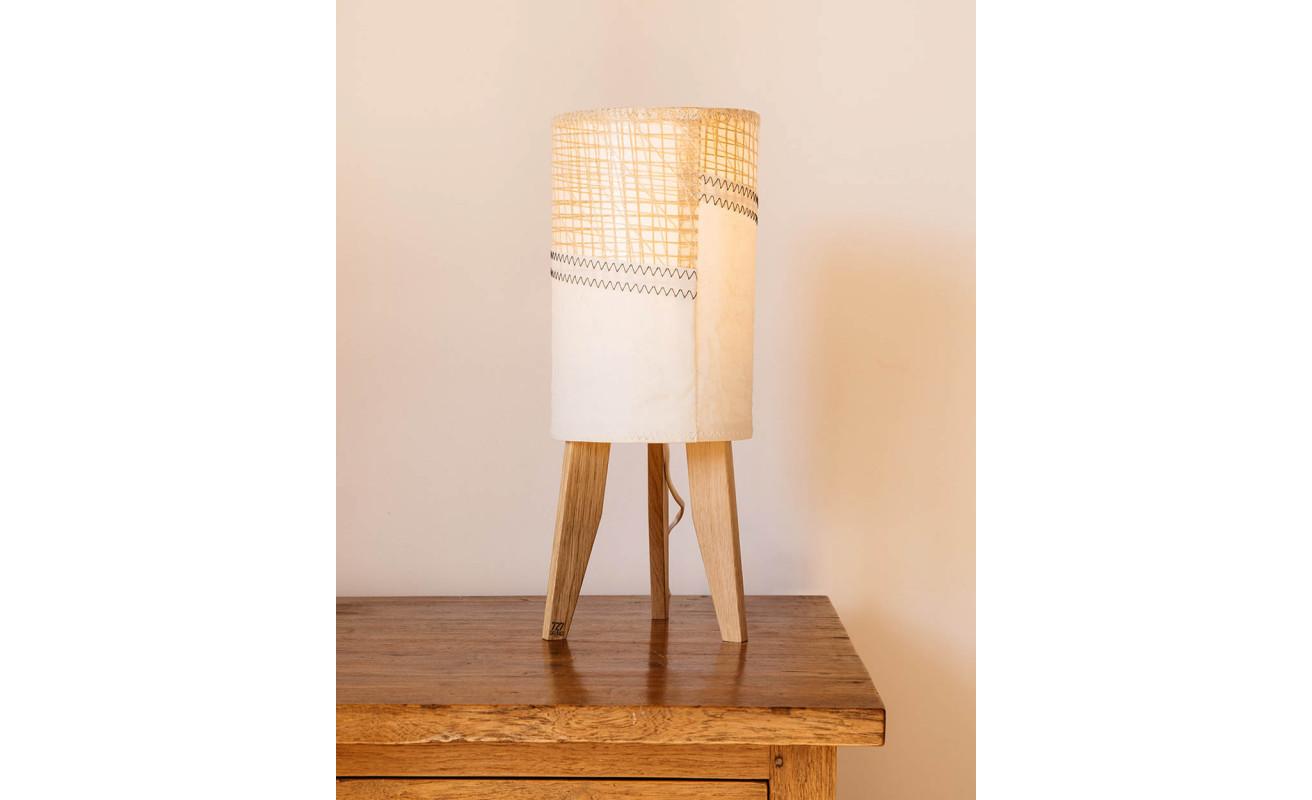 Lampe mini colonne - Technique jaune