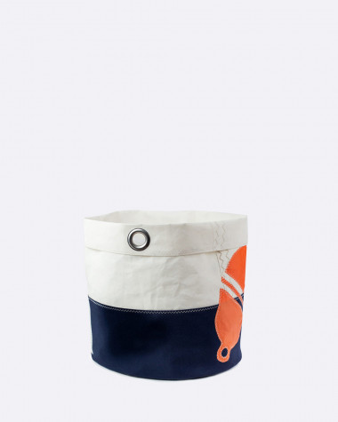 Decorative basket Flottille Orange buoy