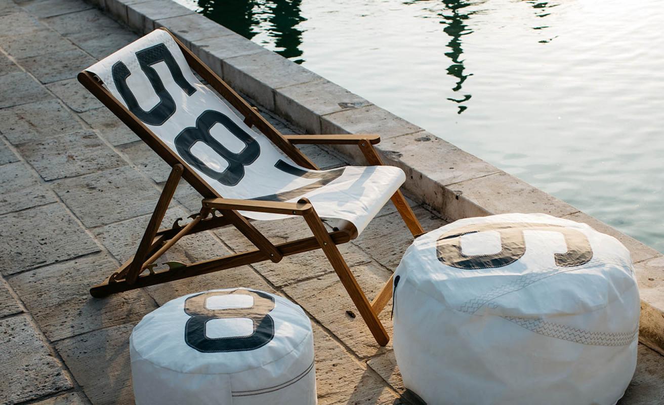 Sitzkissen Solo ⌀54 - Summer Time