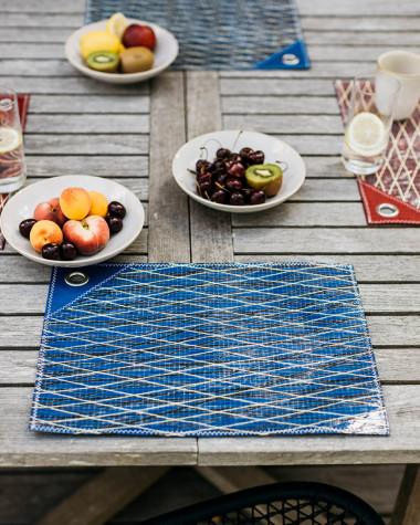 Set de table voile bleue