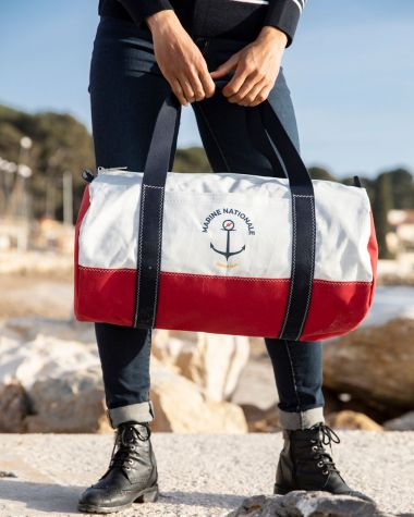 Duffel bag Polochon French Navy