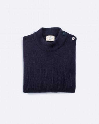 Pull marin Homme en laine Violette Dorange