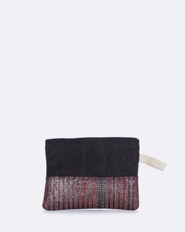 Kleine Tasche Eole Violette Dorange