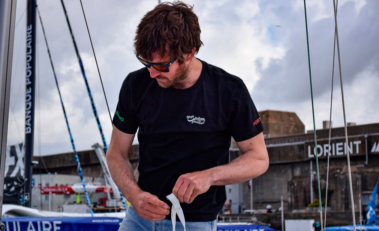 T-Shirt The Sailing Frenchman noir