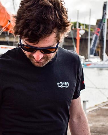 T-Shirt The Sailing Frenchman black