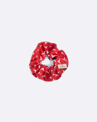 The scrunchie Violette Dorange