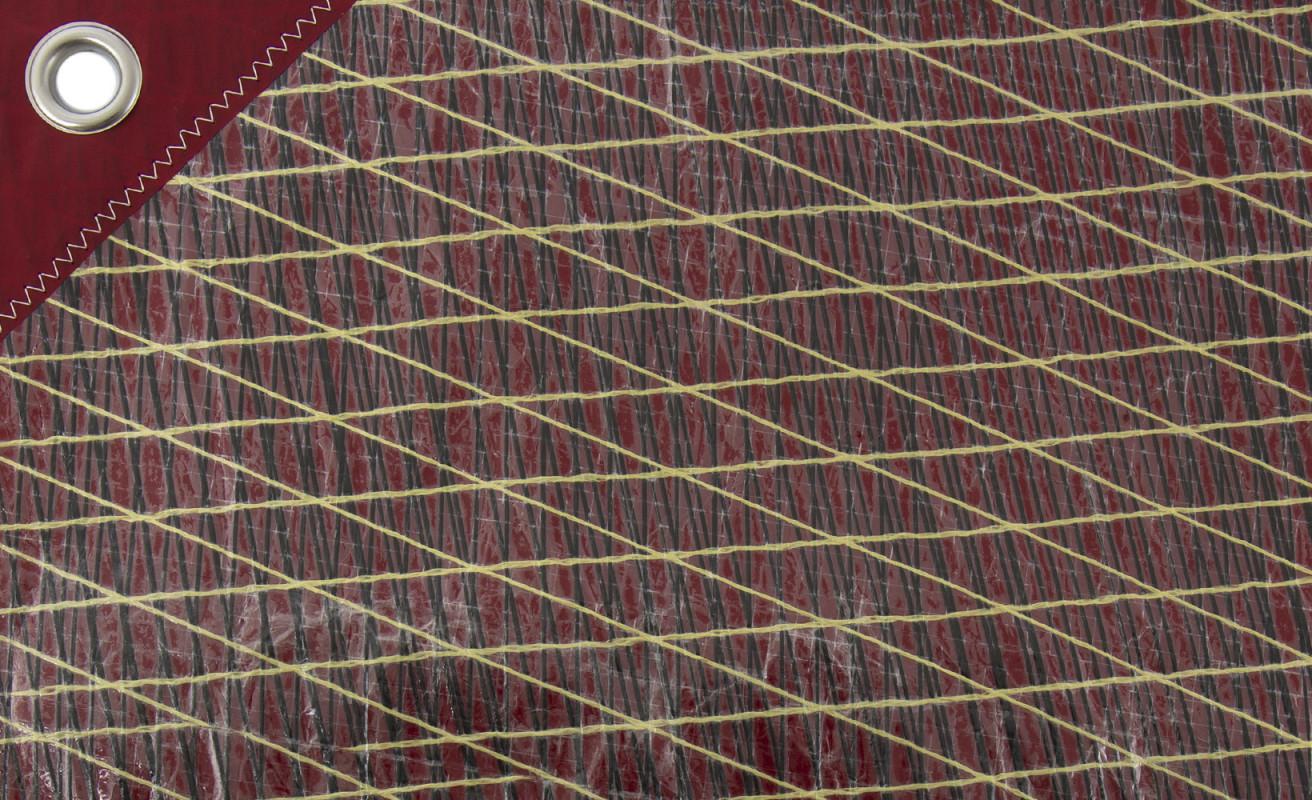 Set de table voile · Rouge
