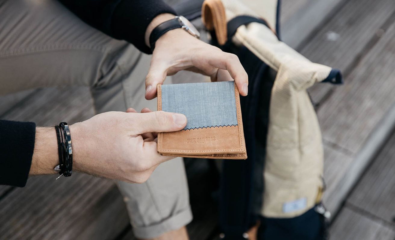 Wallet 3Di Gris