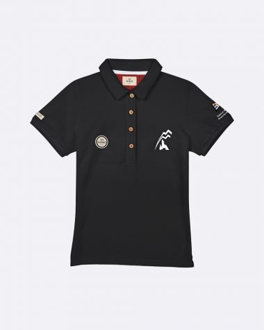 Limited Edition Women's polo Bol d'Or Mirabaud 2021 Black