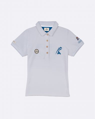 Polo manches courtes Femme Bol d'Or Mirabaud 2021 Gris