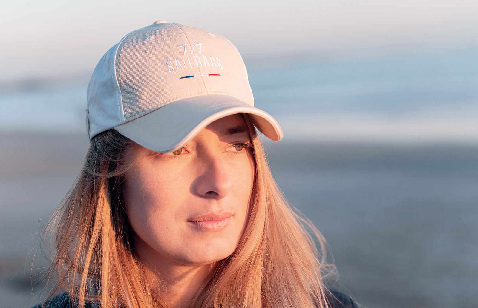 100% recycled sailcloth caps