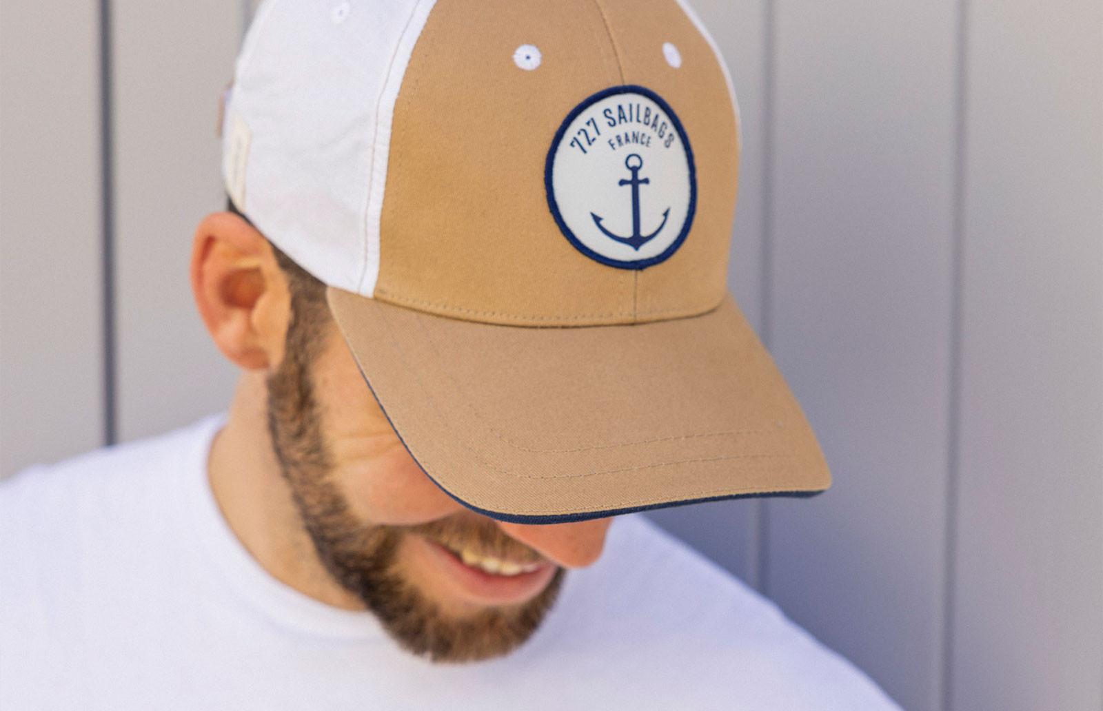 Casquette et bonnet en voile 100 % recyclée