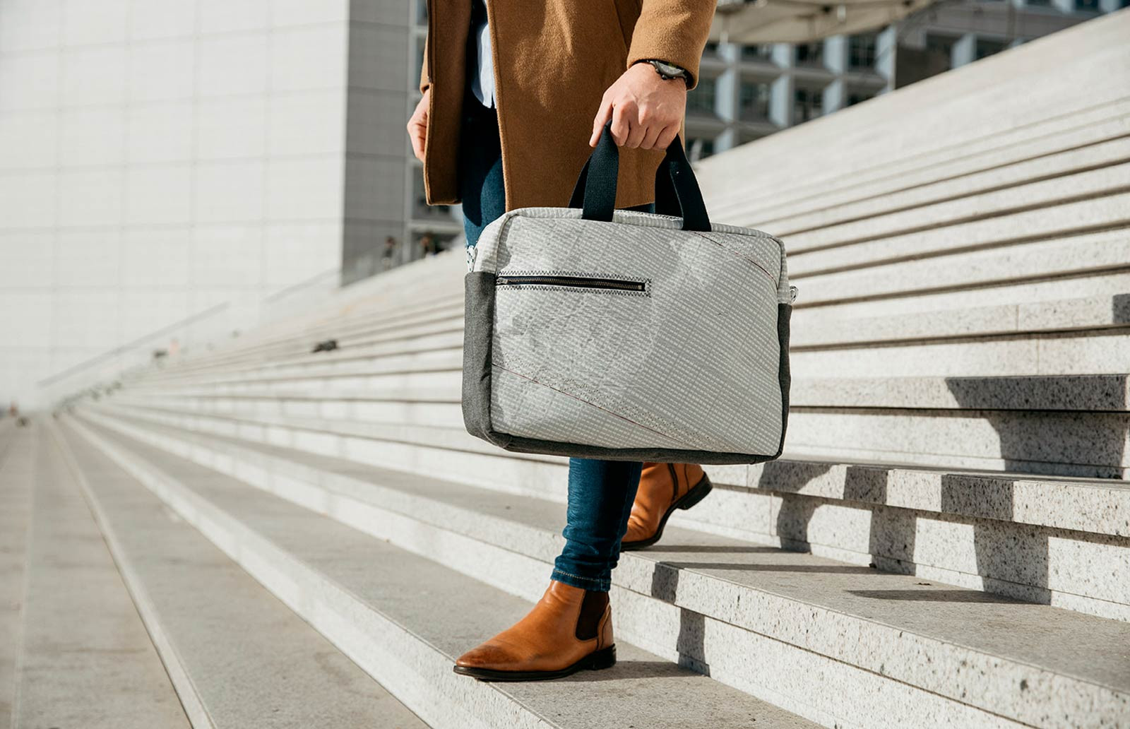 Business Bag : le sac de travail en voile de bateau |727 Sailbags