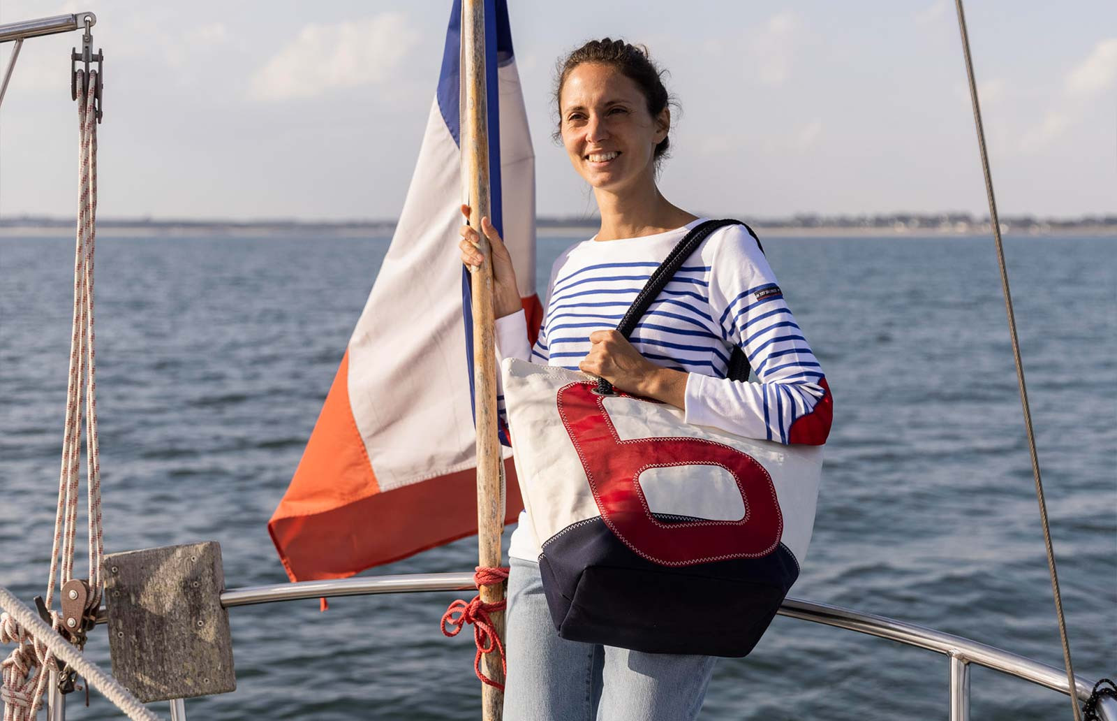 727Sailbags shopping bags: unique items in recycled sailcloth