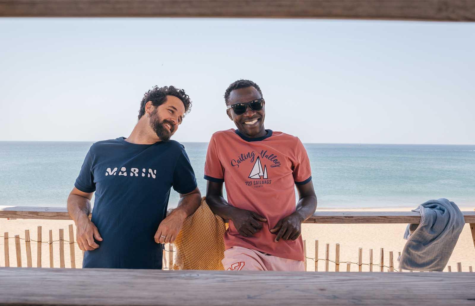 T-shirt marinière homme 100% coton - Haut pour femme | 727 Sailbags
