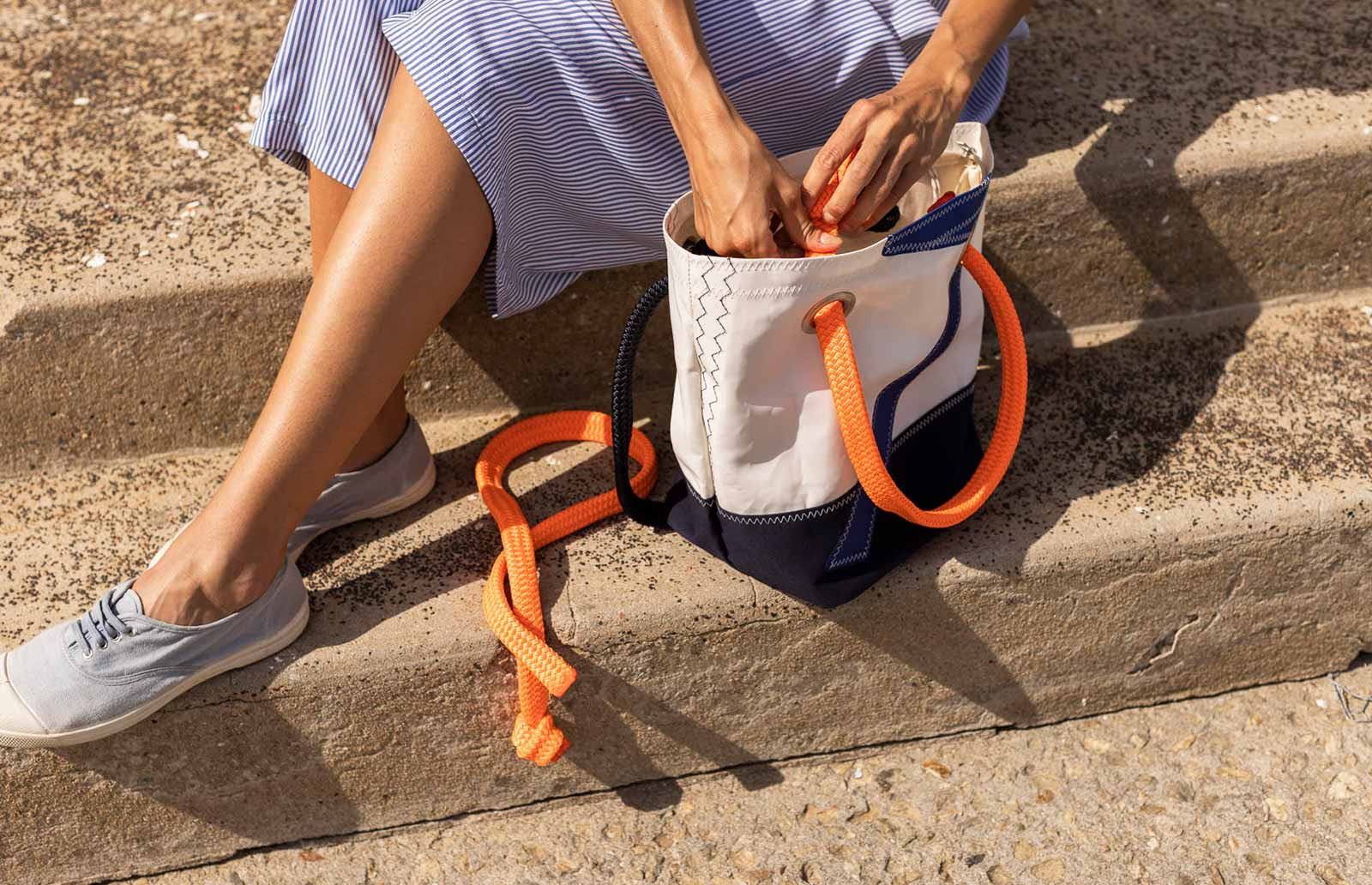 Accessoires de sac en voile 100 % recyclée
