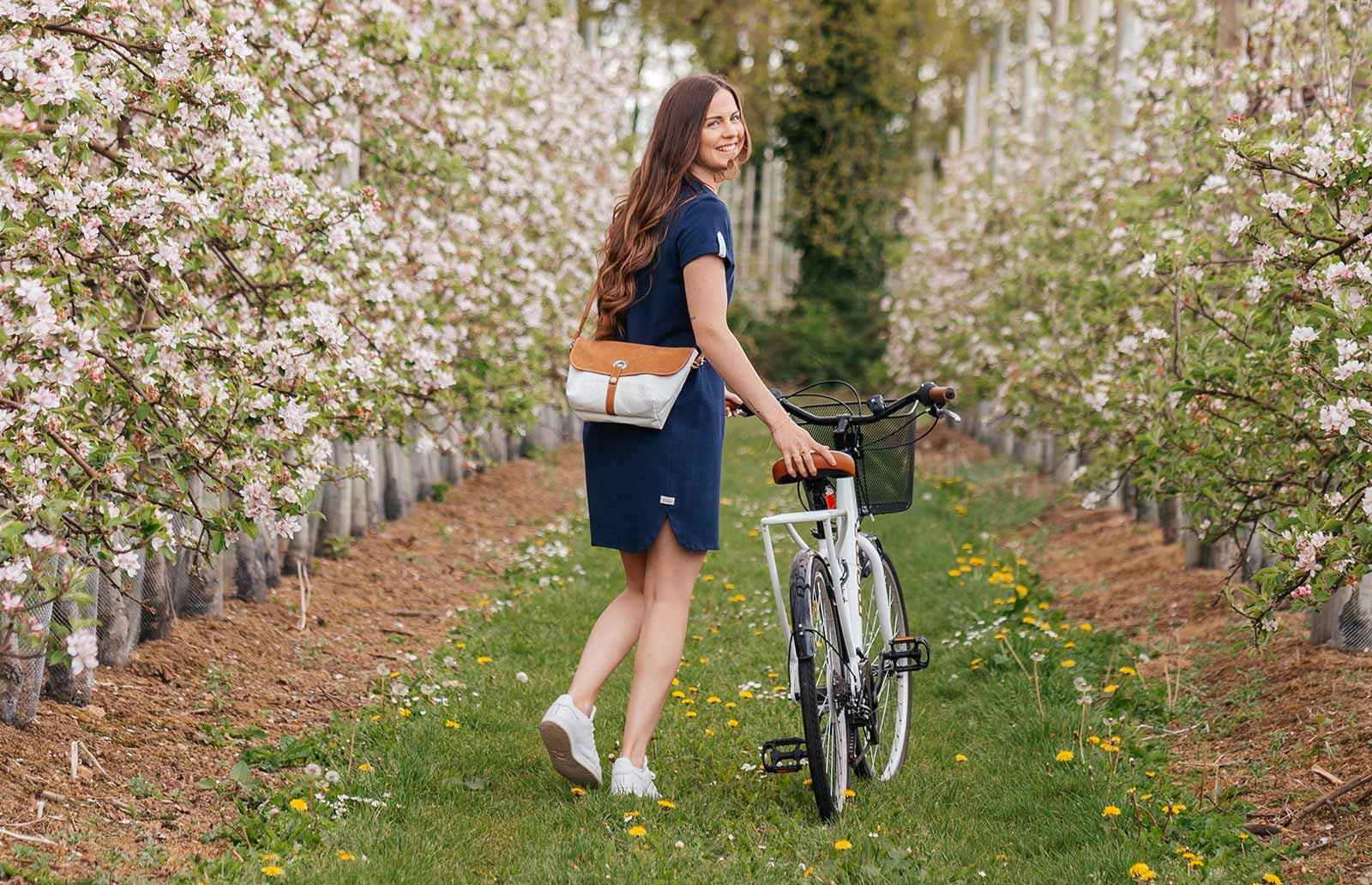 Shoulder Bag made from 100% recycled sails